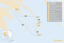 Map thumbnail of Family Adventures in Athens and the Cyclades - 10 Days