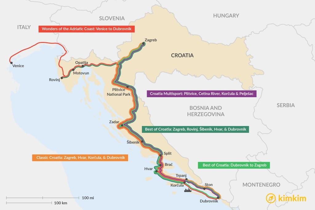 11 Days In Croatia 5 Unique Itinerary Ideas Kimkim
