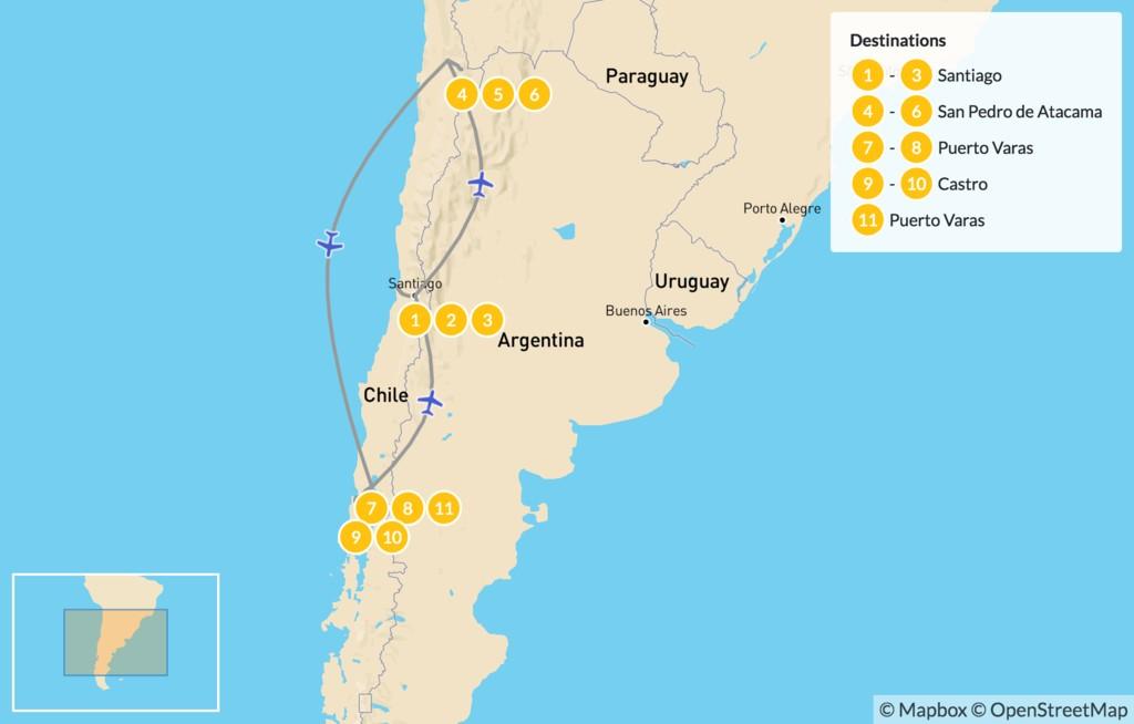 Central Chile, Lake District & Atacama Desert - 12 Days | kimkim on map of south america caribbean sea, map of south america countries, map of south america central america, map of south america cape horn, map of south america mato grosso plateau, map of south america machu picchu, map of south america gran chaco, map of south america falkland islands, map of south america sierra madre mountains, map of south america north america, map of south america la paz, map of south america drake passage, map of south america patagonia, map of south america hawaii, map of south america rio de plata, map of south america french guiana, map of south america haiti, map of south america gulf of mexico, map of south america easter island, map of south america guiana highlands,