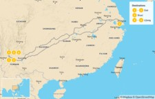 Map thumbnail of Explore the Yunnan Province - 7 Days