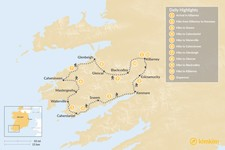 Map thumbnail of Ring of Kerry Self-Guided Hike - 11 Days