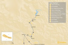 Map thumbnail of Phoksundo Lake Trek – 10 Days