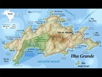 Map thumbnail of Ilha Grande Beach Trekking - 7 Days