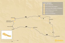 Map thumbnail of A Week in Kathmandu Valley