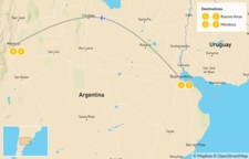 Map thumbnail of Argentina's Wine Country - 5 Days