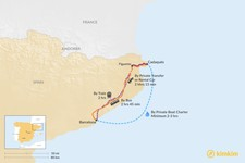 Map thumbnail of How to Get from Barcelona to Cadaqués