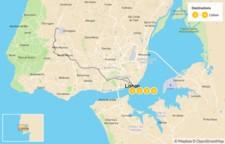 Map thumbnail of Highlights of Lisbon & Sintra - 5 Days