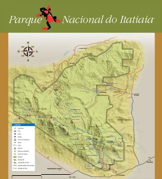 Map of Rio de Janeiro Trek: Itatiaia National Park - 2 Days