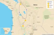 Map thumbnail of Uyuni Salt Flats - 3 Days