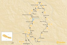 Map thumbnail of Upper Dolpo Trek - 8-27 Days