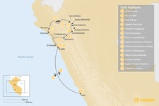 Map thumbnail of Discover Northern Peru: A Journey For The Senses - 14 Days