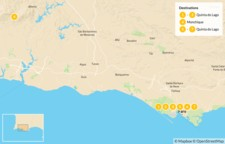 Map thumbnail of Luxury Wellness Escape in Algarve - 8 Days
