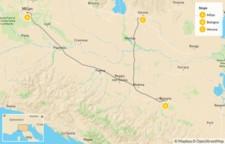 Map thumbnail of Food & Wine in Bologna, Verona & Milan - 8 Days