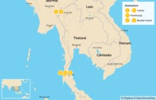 Map thumbnail of Highlights of Myanmar - 10 Days