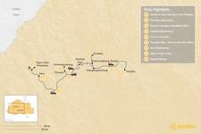 Map thumbnail of Best of Bhutan - 9 Days