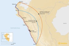 Map thumbnail of How to Get from Lima to Mancora