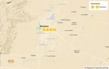 Map thumbnail of Trekking in Mendoza: Aconcagua Mountain Crossing - 5 Days