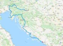 Map thumbnail of Best of Croatia & Slovenia: Ljubljana, Rovinj, Hvar, & Dalmatia - 14 Days