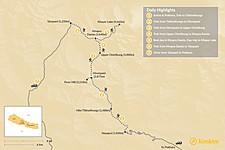 Map thumbnail of Khopra Danda Trek: Best Way to Organize this 5-8 Day Trek in Nepal
