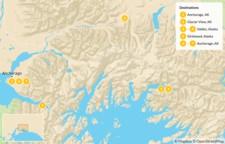 Map thumbnail of Alaska Chugach Traverse - 8 days