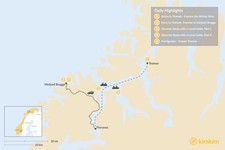 Map thumbnail of Tromsø & Senja Winter Excursion - 5 Days