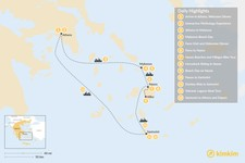 Map thumbnail of Family Adventures in Athens and the Cyclades - 13 Days