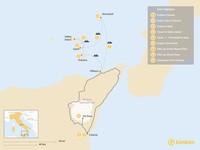 Map thumbnail of Volcanoes of Sicily: Aeolian Islands & Mt. Etna - 9 Days