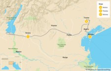 Map thumbnail of Discover Treviso, Venice and Verona - 6 Days