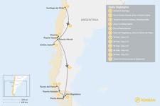 Map thumbnail of Lake District & W Trek Adventure - 12 Days