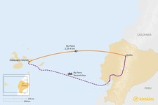 Map thumbnail of How to Get from Quito to the Galapagos Islands