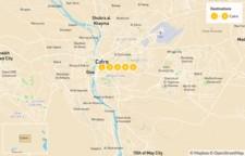 Map thumbnail of Egypt Culture Tour: Cairo, Giza, & Alexandria - 5 Days