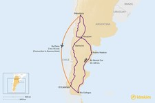 Map thumbnail of How to Get from Mendoza to El Calafate
