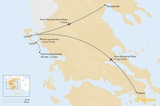 Map thumbnail of How to Get to Corfu