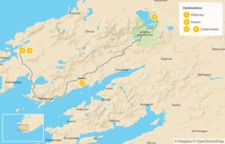 Map thumbnail of Guided Kingdom of Kerry Walk - 5 Days