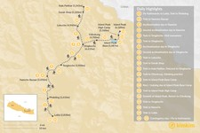 Map thumbnail of Climb Island Peak: Nepal's Most Popular Trekking Peak - 24 Days