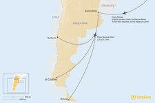 Map thumbnail of How to Get to Patagonia