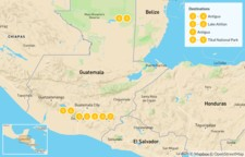 Map thumbnail of Highlights of Guatemala - 10 Days