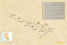 Map thumbnail of Sacred Valley Hiking and Homestay - 9 Days