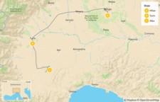 Map thumbnail of Food & Wine in Piedmont: Turin, Alba & Barolo - 6 Days