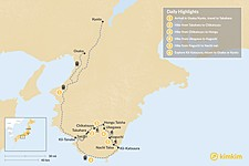 Map thumbnail of Kumano Kodo Self-Guided Tour - 6 Days
