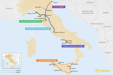 Map thumbnail of 7 Days in Italy - 5 Unique Itinerary Ideas