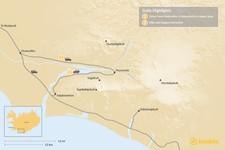 Map thumbnail of Hiking in Thorsmork - 2 Days
