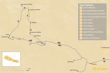 Map thumbnail of Annapurna Yoga & Luxury Trek - 11 Days