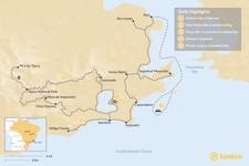 Map thumbnail of Adventure Tour in Rio de Janeiro - 5 Days