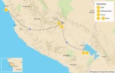 Map thumbnail of Exploring Cusco, Machu Picchu and Titicaca Lake 6-Days