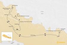 Map thumbnail of Best Monsoon Treks in Nepal