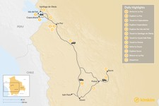 Map thumbnail of Explore the Farms and Markets of Bolivia's Andes - 12 Days