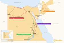 Map thumbnail of 10 Days in Egypt - 4 Unique Itineraries
