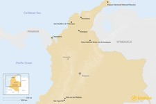 Map thumbnail of Top 7 Places in Colombia That Most Travelers Miss (But Shouldn't)