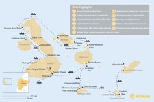 Map thumbnail of Galapagos Cruise: Wildlife Watching, Snorkeling & Hiking - 11 Days